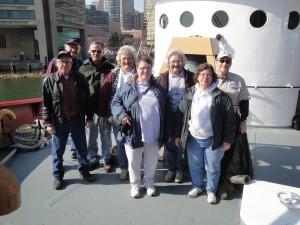 Group shot of volunteers.