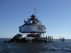 Photo by Tony Pasek Thomas Point Light