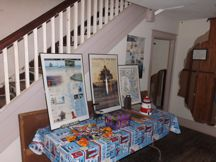 Part of the Chapter's display.