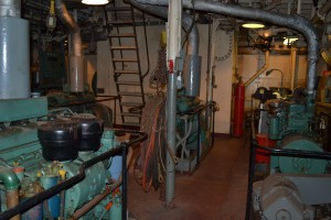 Engine Room of Chesapeake Lightship.