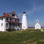 Cove Point Light Station on a beautiful spring day.
