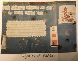 Jordan-Lighthouse Poster