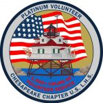 Platinum Volunteer Patch for 1000 hours of volunteer service.