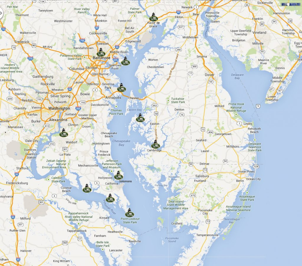 Maryland Challenge Route