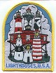 Lighthouses USA Patch