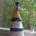 Clay Pot Lighthouse Craft