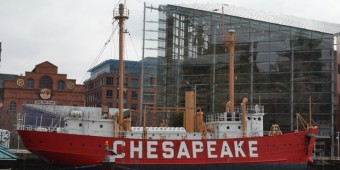 Lightship Chesapeake in Baltimore's Inner Habor
