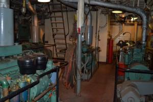 Engine Room of Chesapeake Lightship.