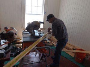 Hobie Statzer working in equipment room.