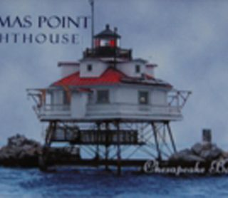 Thomas Point Photo Magnet