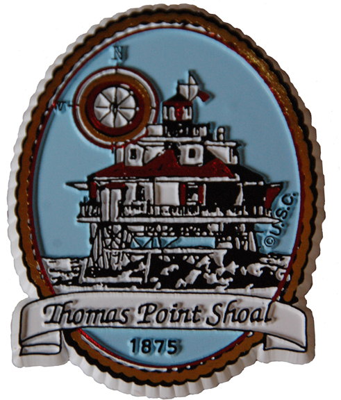Thomas Point Rubber Magnet