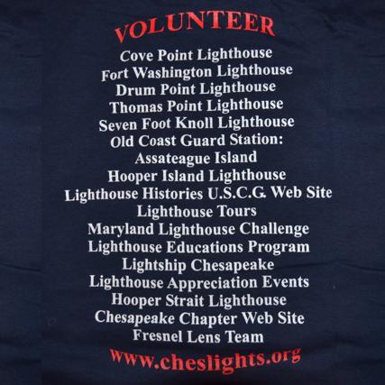 Volunteer Shirt-back
