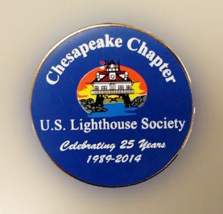 25 Anniversary Chapter Pin