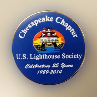 25 Anniversary Chapter Pin