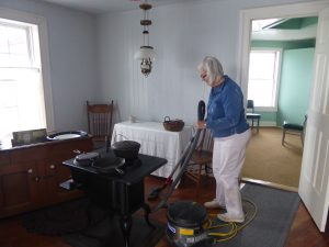 Mary Vacuums 1st Floor