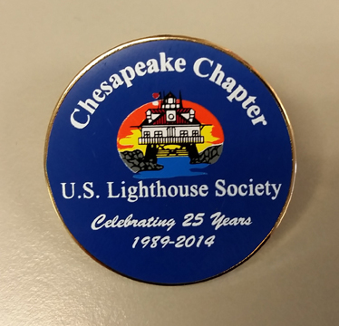 Official Chapter 25th Anniversary Pin