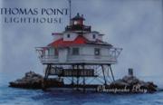 Thomas Point Photo Magnet